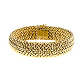18k, yellow-gold, mesh bracelet, fine jewelry, HERCO, local jewelers. near me, NJ