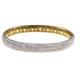Yellow Gold, bracelet, bangle, diamonds, two-tone, fine jewelry, Herco Jewelers, local jewelers in NJ,