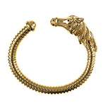 yellow-gold, cuff horse, bracelet, bangle, fine jeweler, NJ