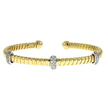 Yellow-gold, cuff, bracelet, with diamonds, fine jewelry, local jewelers in NJ,