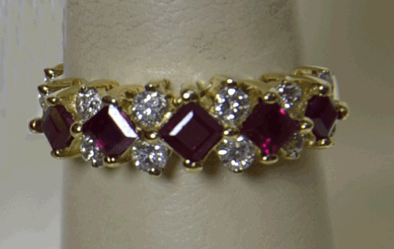 ruby, gold ring, diamonds, pre-owned jewelry, we buy, fine jewelry, jewelers in NJ,