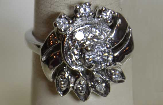 Diamond Ring, fine jewelry, jewelers in NJ, Lee Richards Fine Jewelry, Pt. Pleasant, NJ