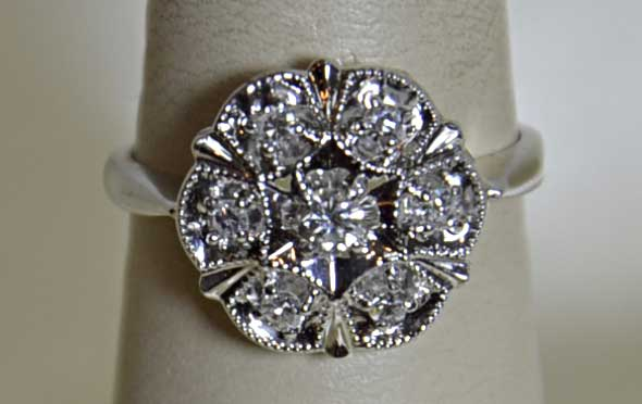 Diamond ring, pre-owned, we buy, fine jewelry, NJ