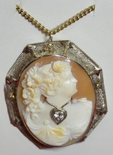 Pre-owned jewelry, mother of pearl, ivory, necklaces, fine jewelry, vintage, NJ