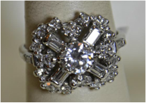 Diamond ring, pre-owned, fine jewelry, fine jewelry, jewelers in NJ, Monmouth County, Ocean County,